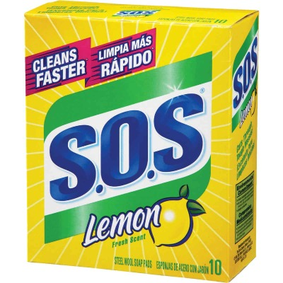 S.O.S. Lemon Scouring Pad (10 Count)