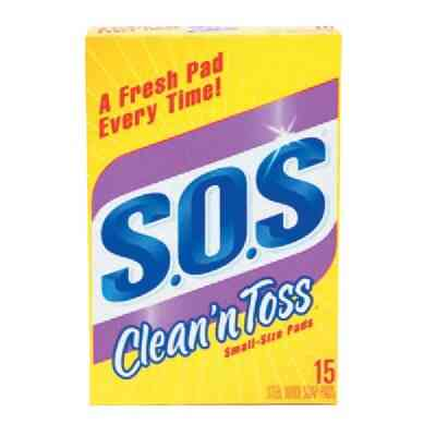 S.O.S Clean 'n Toss Scouring Pad (15 Count)