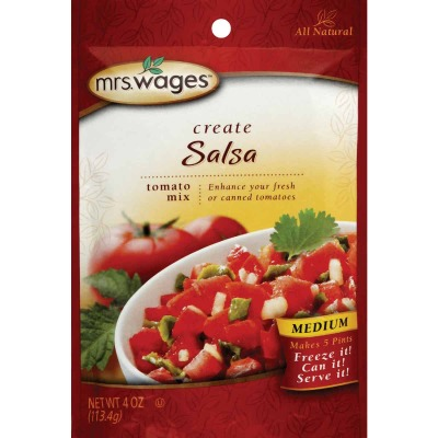 Mrs. Wages 4 Oz. Salsa Tomato Mix