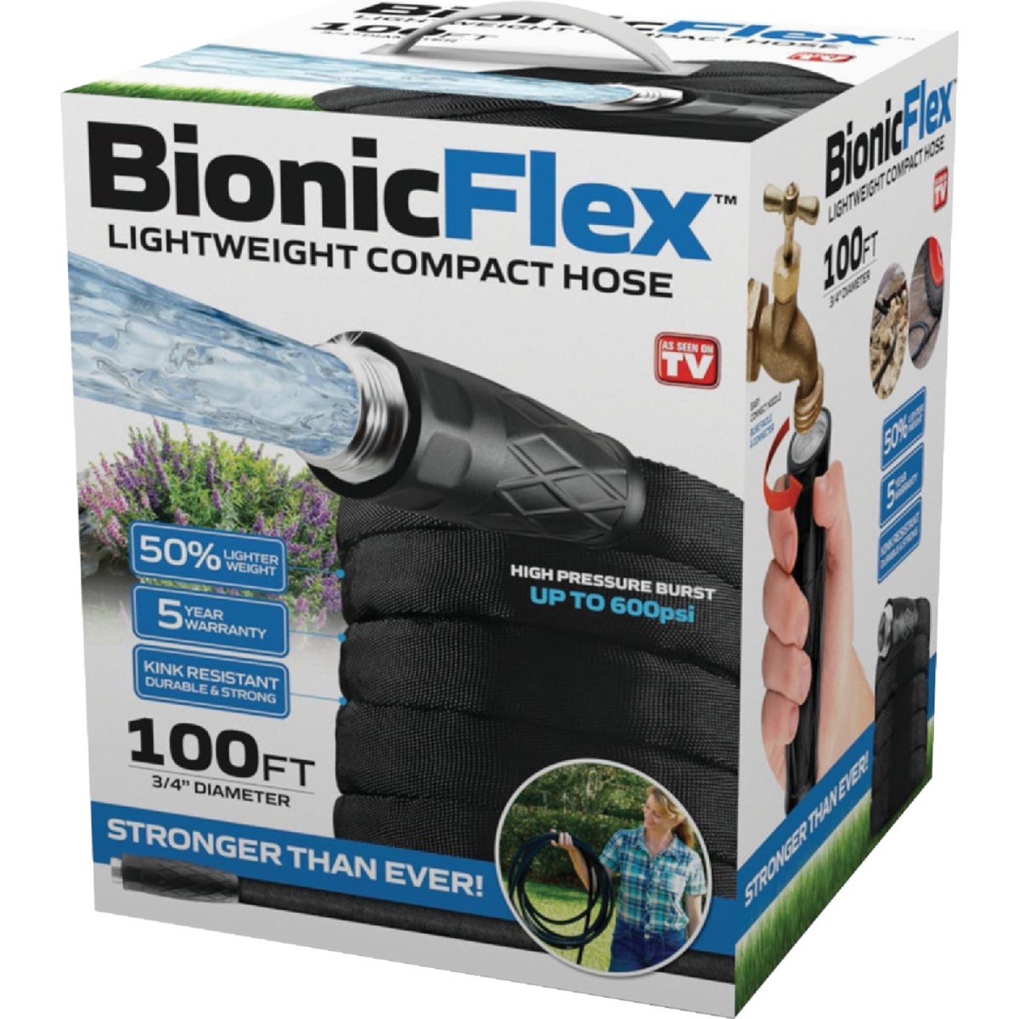 Bionic Force 5/8 In. x 100 Ft. Garden Hose Image 1