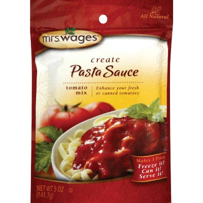 Mrs. Wages 5 Oz. Pasta Sauce Tomato Mix