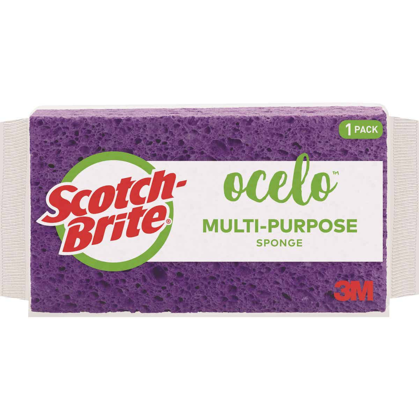 Scotch-Brite O-Cel-O 7.75 In. x 4.25 In. StayFresh Sponge Image 1