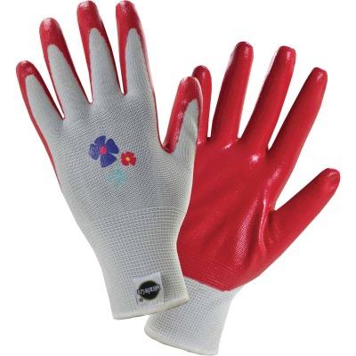 Miracle-Gro Women's Medium/Large Nitrile Coated Garden Glove (3-Pack)
