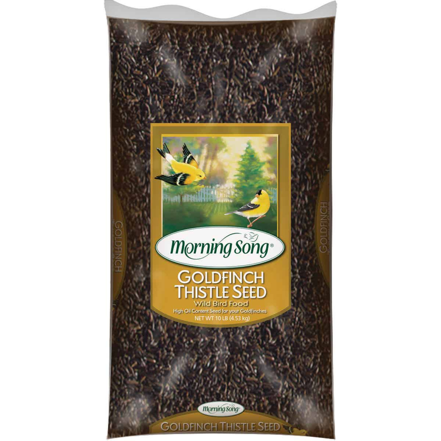 Morning Song 10 Lb. Nyjer Thistle Wild Bird Seed Image 1