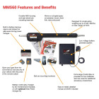 Mighty Mule MM71W 18 Ft. 850 Lb. Heavy-Duty Single Gate Opener Kit Image 9
