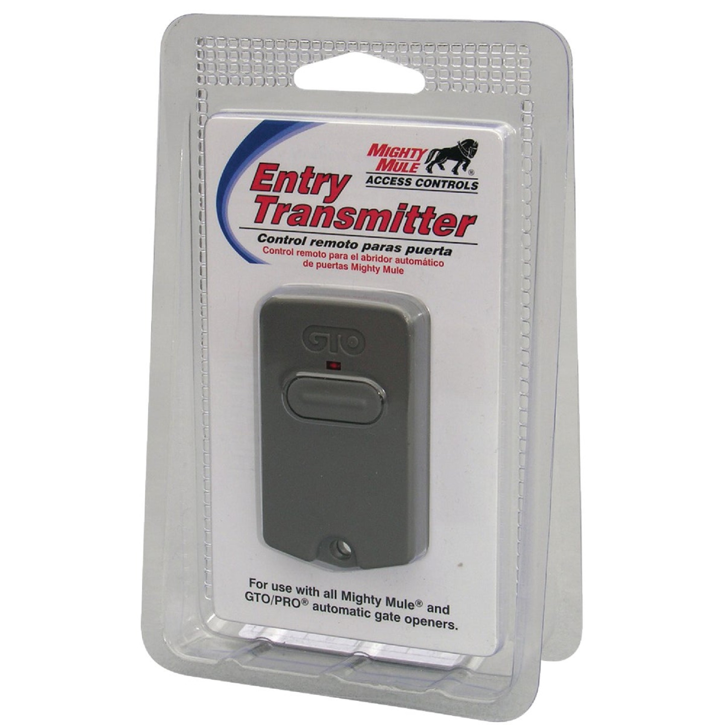 Might Mule Remote 3-Button Entry Transmitter Image 1