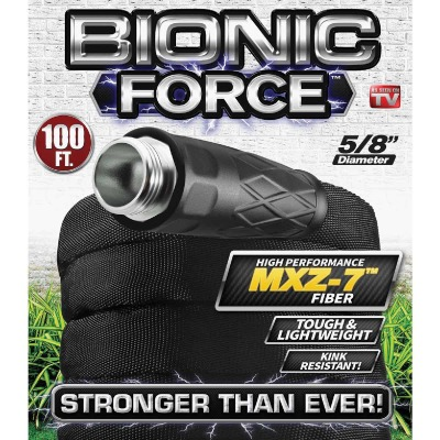 Bionic Force Pro 5/8 In. Dia. X 100 Ft. L. Garden Hose