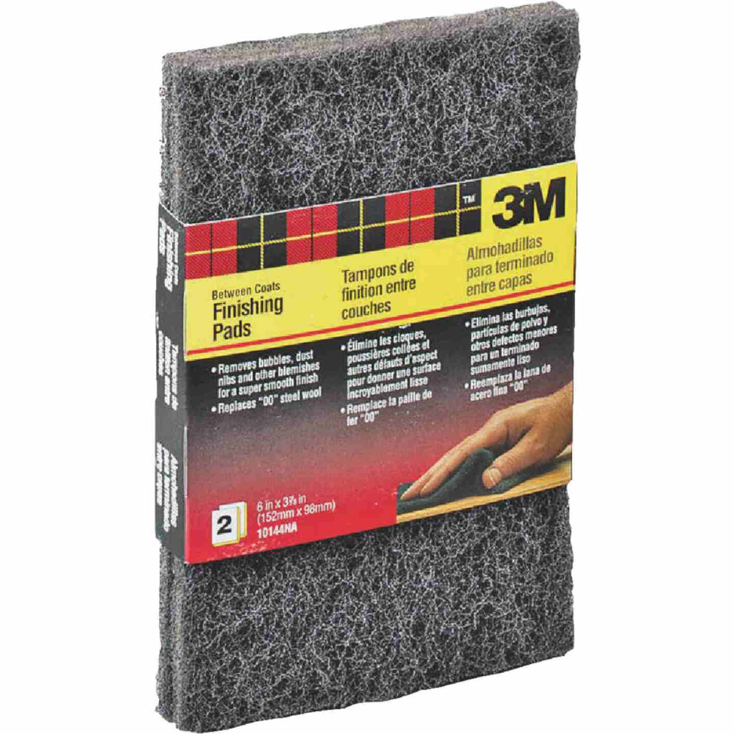 3M 3-7/8 In. x 6 In. Finishing Pad (2-Pack) Image 1