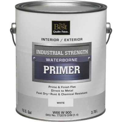 Do it Best Industrial Strength Waterborne Primer, White, 1 Gal.