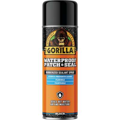 Gorilla 16 Oz. Black Waterproof Patch & Seal Spray