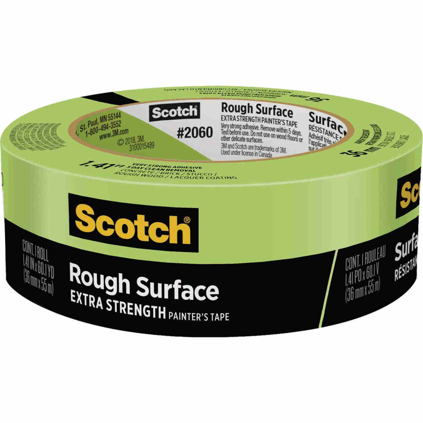 3M Scotch 1.41 In. x 60.1 Yd. Rough Surface Painter's Tape Image 1