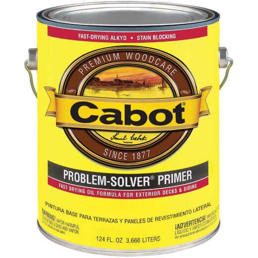 Cabot Problem-Solver White Exterior Primer, 1 Gal.