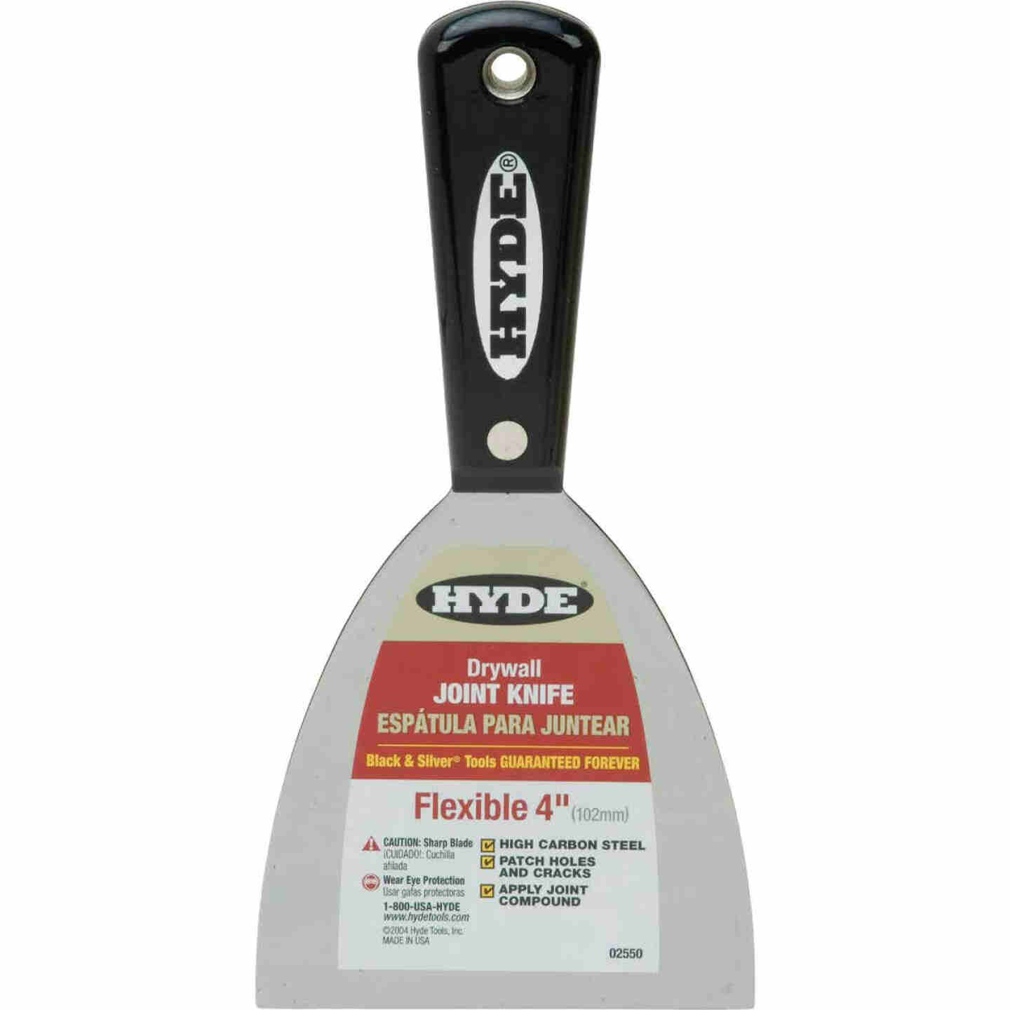 Hyde Black & Silver Professional 4 In. Flexible Joint Knife Image 1