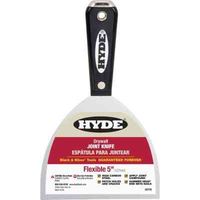 Hyde Black & Silver 5 In. High-Carbon Steel Joint Knife