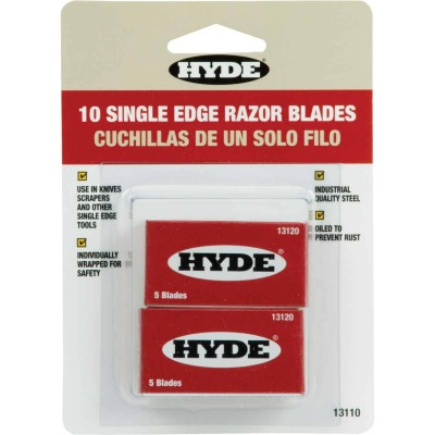 Hyde Single Edge Razor Blades (10-Pack)