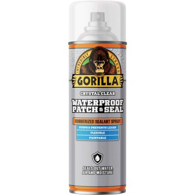 Gorilla 14 Oz. Clear Waterproof Patch & Seal Spray