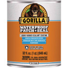 Gorilla 32 Oz. White Waterproof Patch & Seal Liquid Image 1