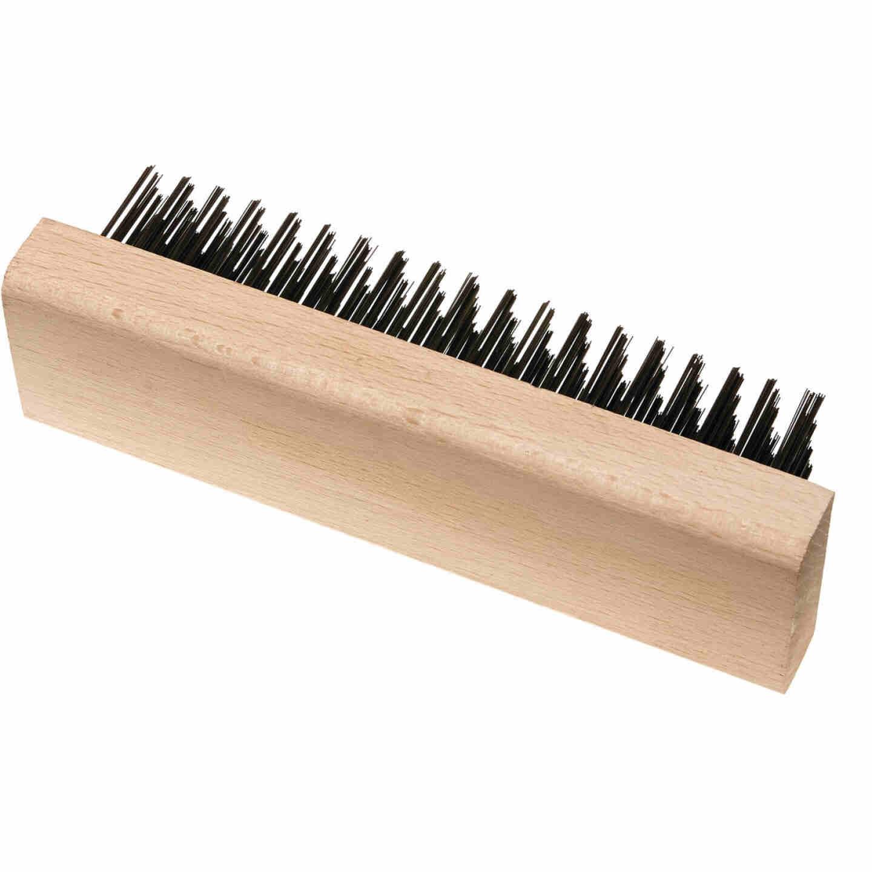 Best Look Wood Block Wire Brush Image 1