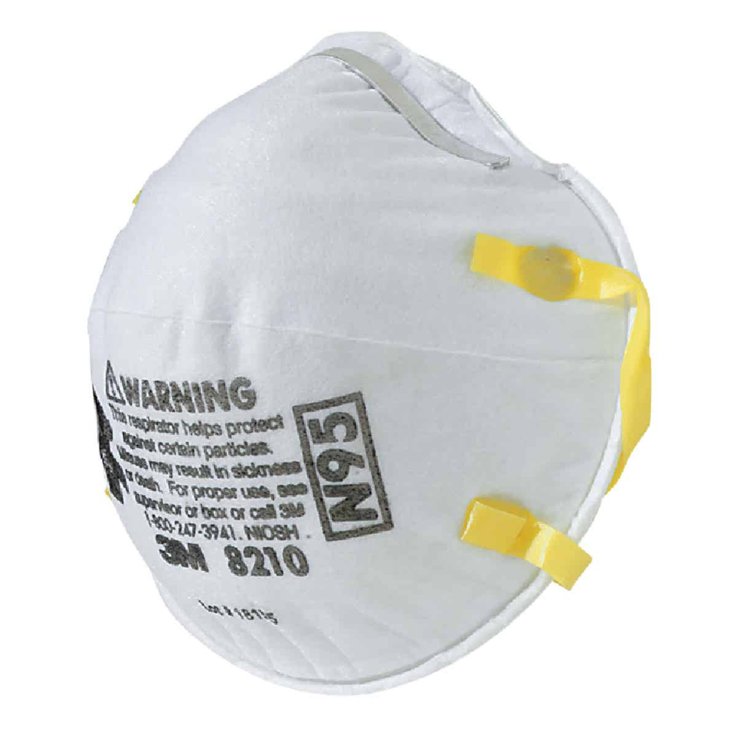 3M N95 Woodworking, Sanding and Fiberglass Respirator (2-Pack) Image 1