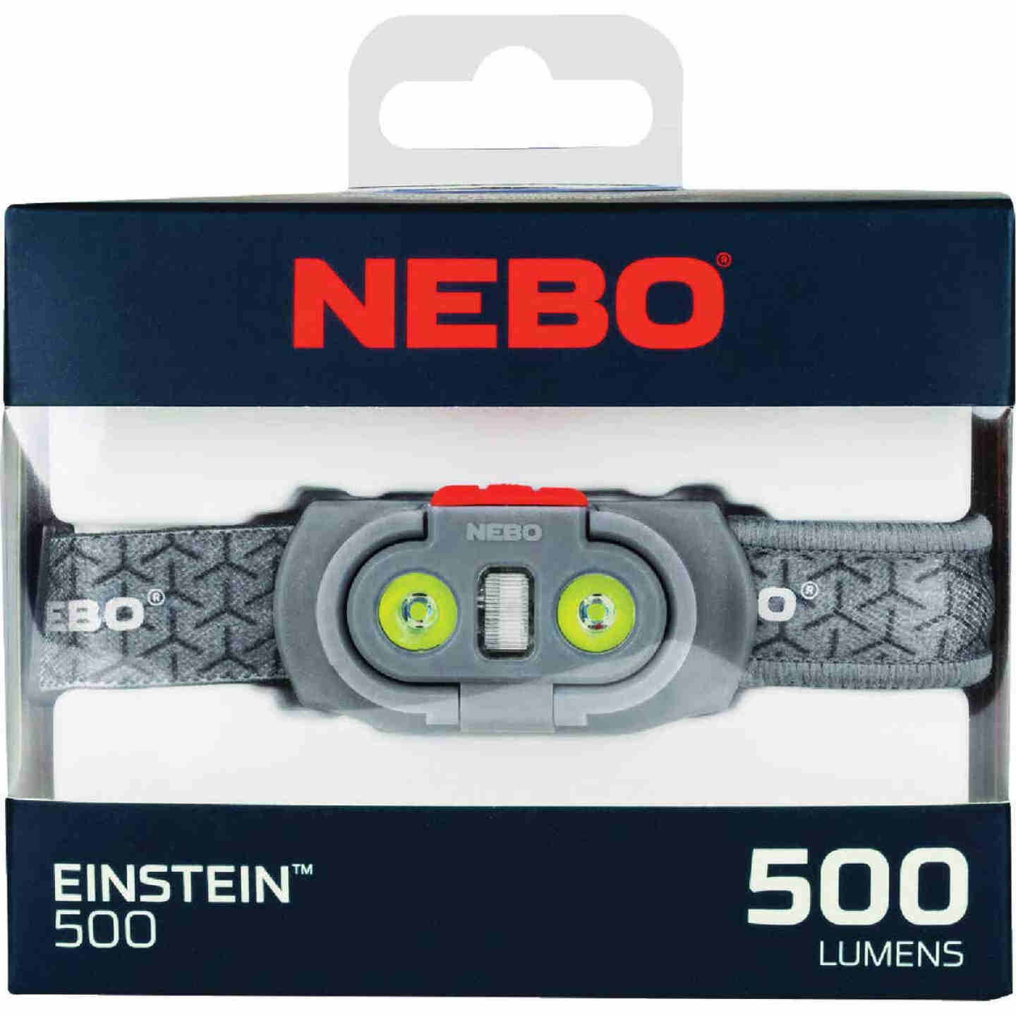 Nebo Einstein 500 Lm. LED 3AAA Headlamp Image 2