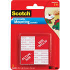 3M Scotch 1 In. x 1 In. 1 Lb. Capacity Removable Mounting Squares (16-Pack) Image 1