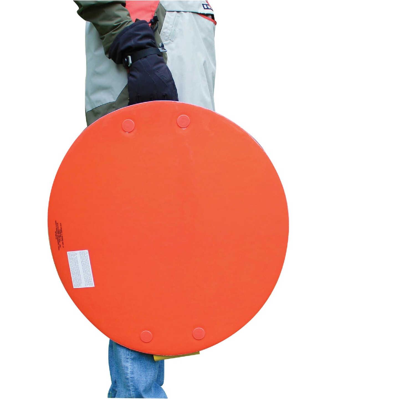 Flexible Flyer 26 In. Dia. Blue Foam Saucer Sled Image 4